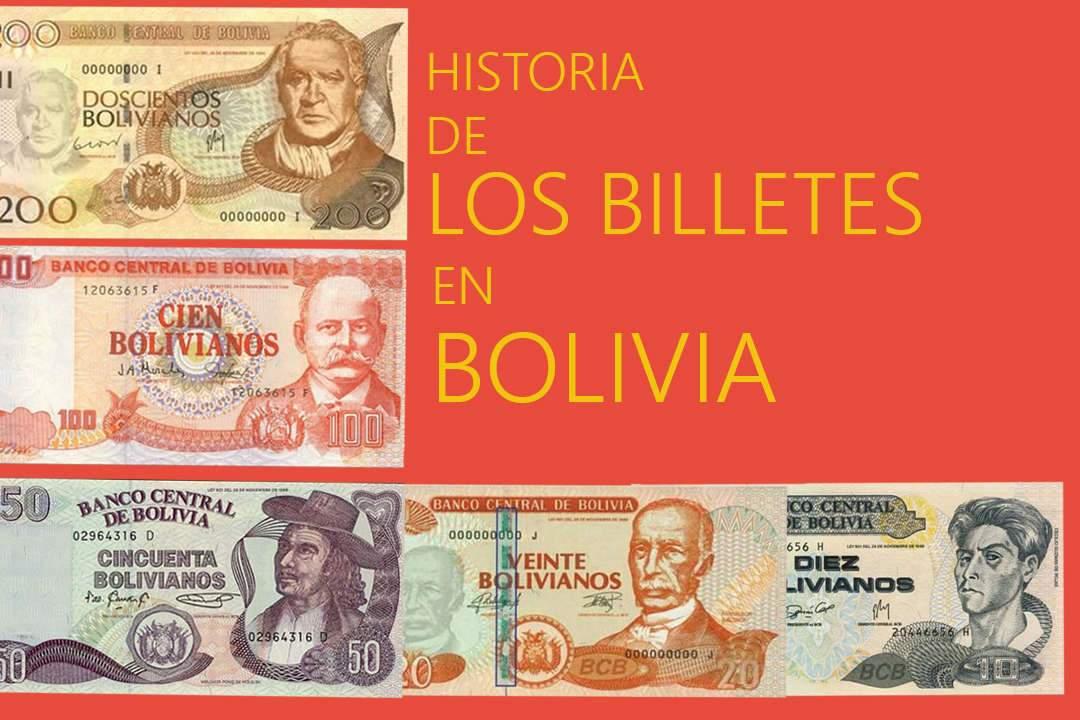 Historia de los billetes de Bolivia - Bs10,20,50,100 y 200