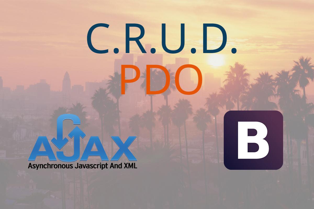 Aplicación CRUD AJAX con PDO y Bootstrap + Código Fuente
