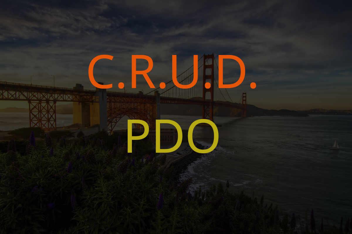 Aplicación CRUD en PHP - PDO - MySQL - Bootstrap + Código Fuente