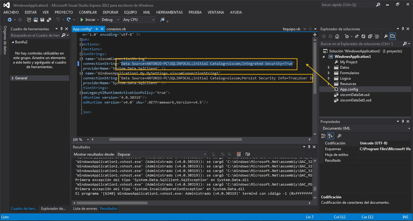 configuracion de conexion con la base de datos