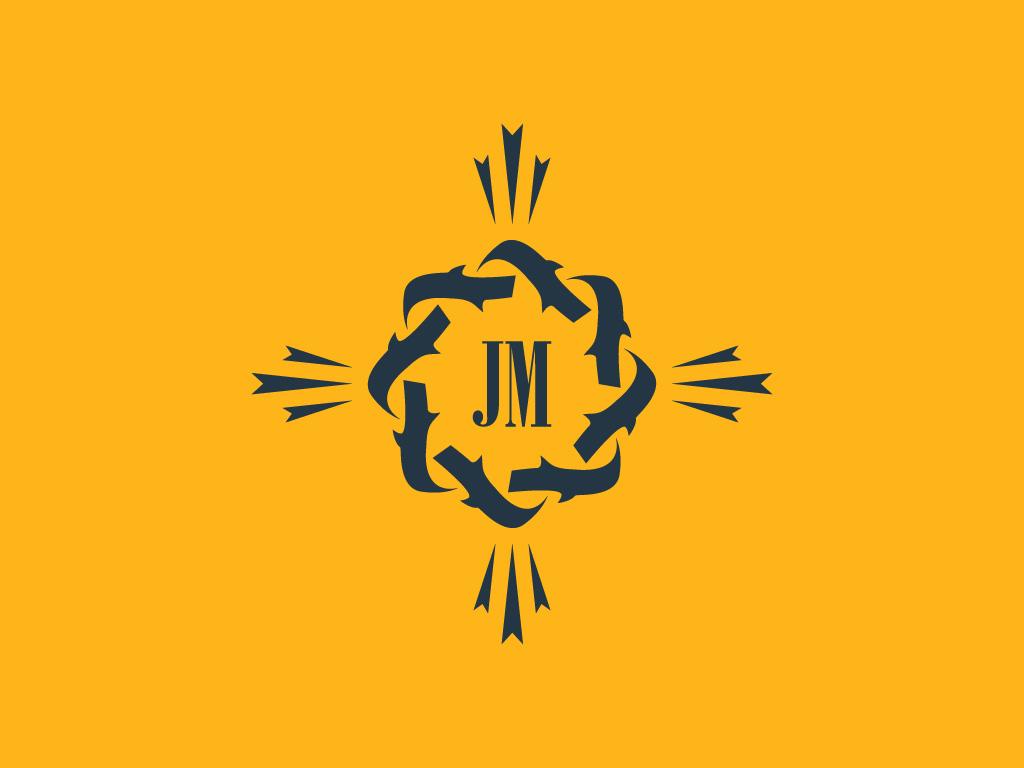 Logo vector Congregación Jesús María Fe y Alegría