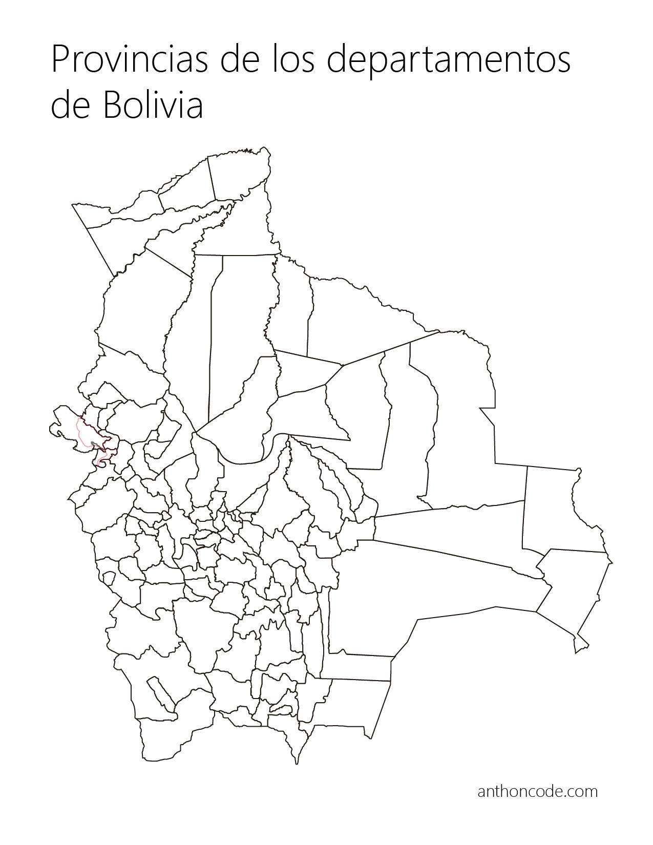departamentos y provincias para colorear o pintar