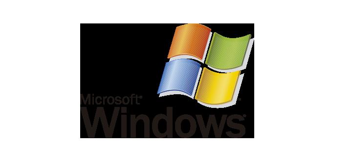 WindowsXP Windows8 Windows10 logo vector (.EPS)