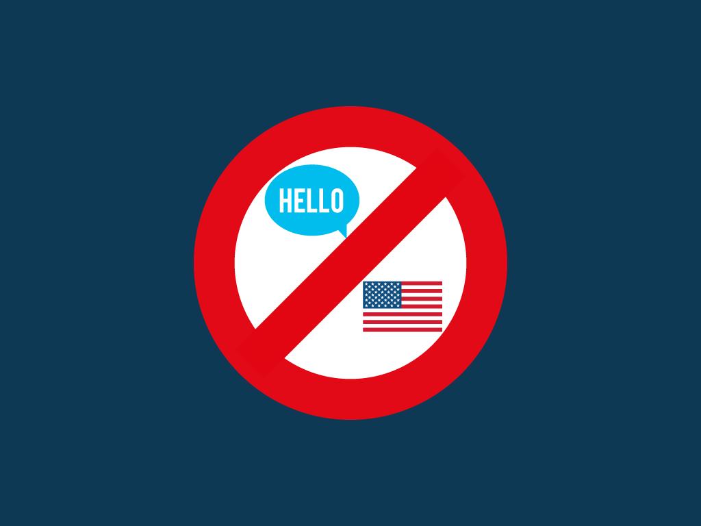 El gobierno que aborrece el idioma del inglés y su intento de cambiarla