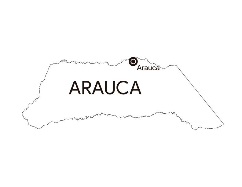 Arauca Colombia para colorear