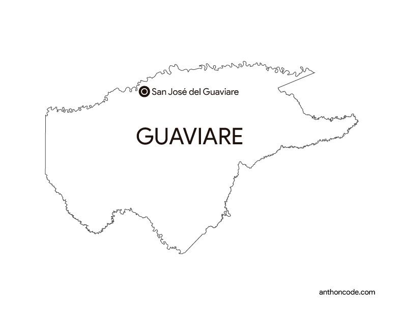 Departamento Guaviare Colombia
