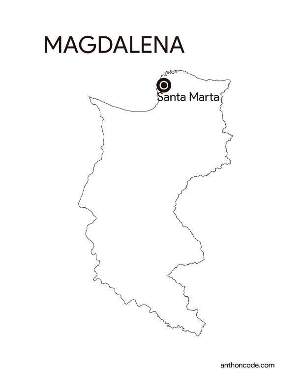 Departamento Magdalena Colombia