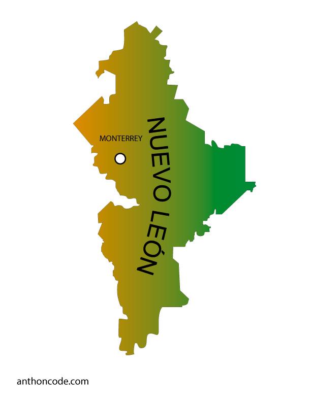 Mapa De México Y Sus Estados Para Colorear Pdf