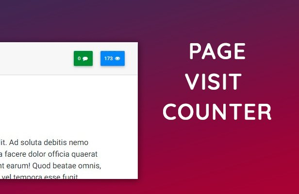 page visit counter wordpress
