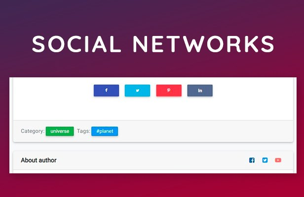 social networks share theme wordpress