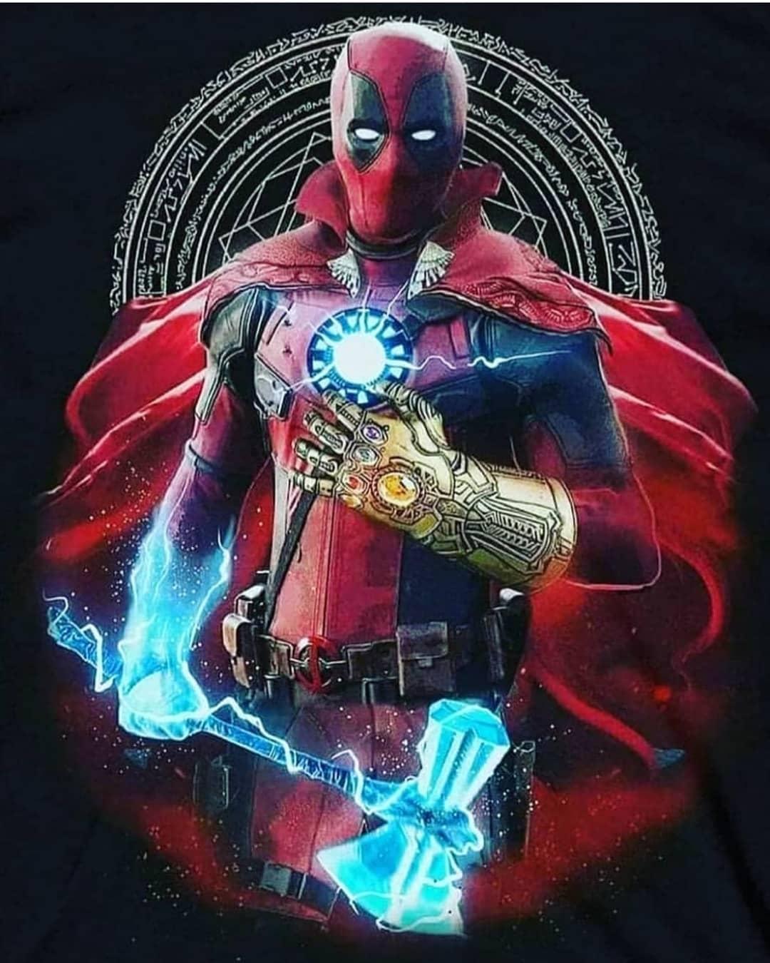 Divertidas imágenes de Deadpool haciendo de las suyas