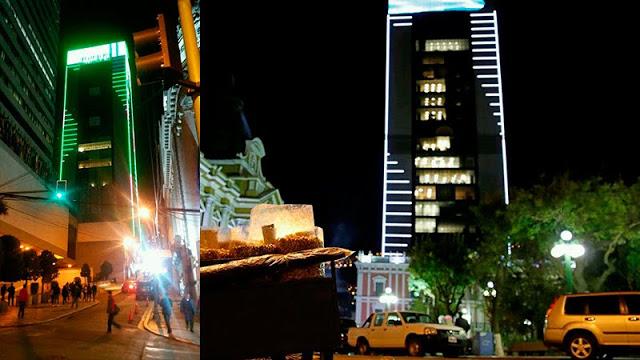 El edificio de Evo Morales o Nuevo Palacio de Gobierno