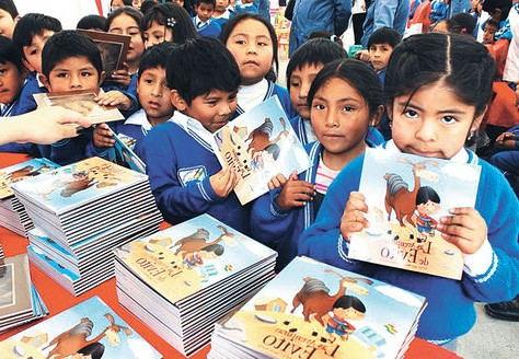 historietas y cuentos sobre Evo Morales