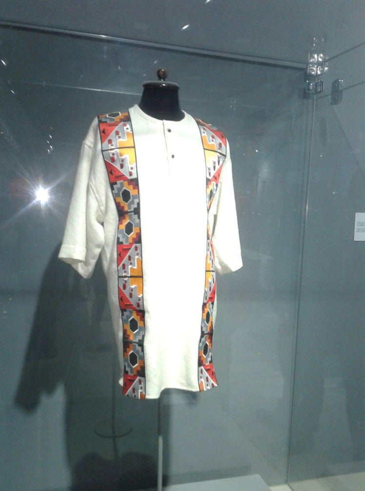 Evo's Tunic in the Museum