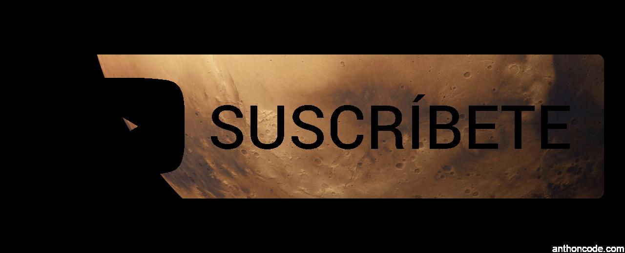 botón marte para youtube