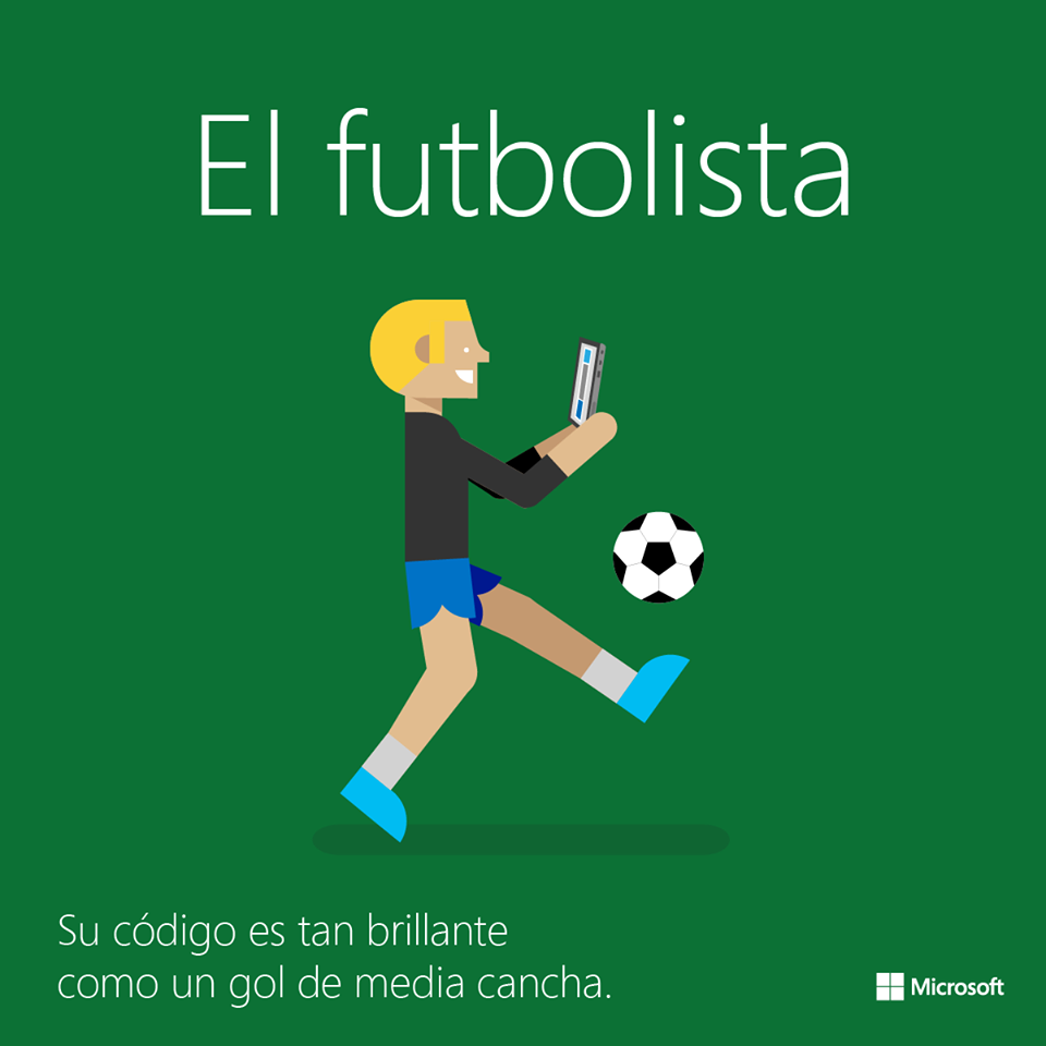 el futbolista y la programación