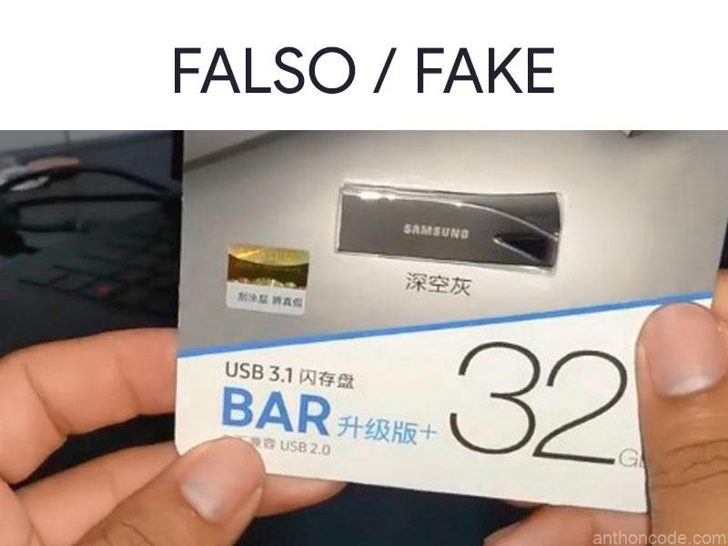 sello de garantia chino falso