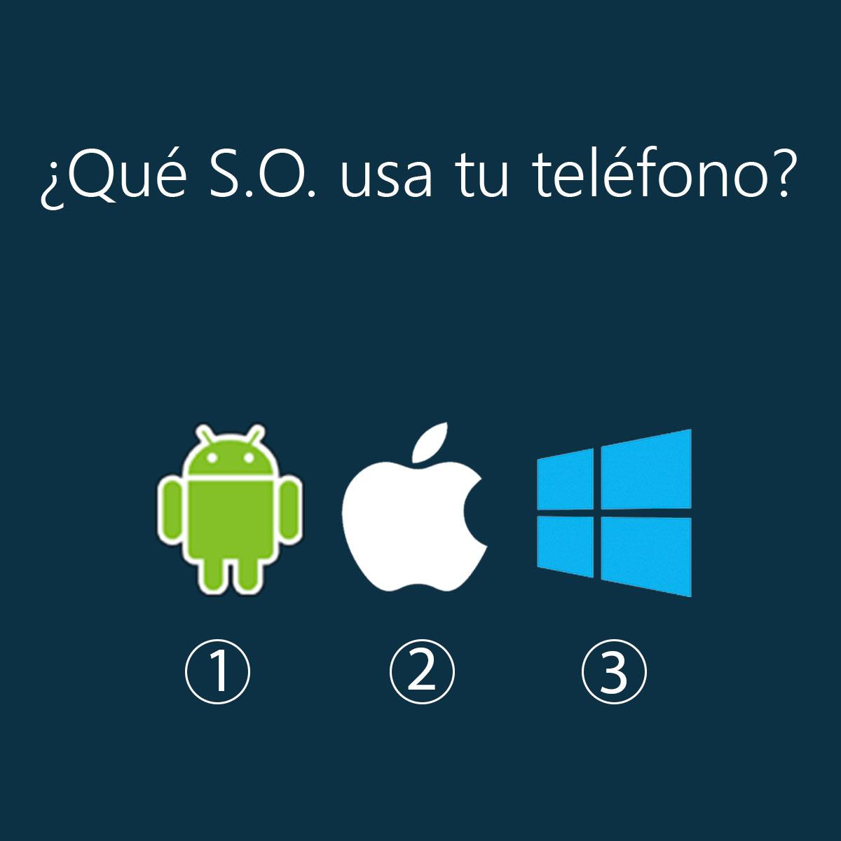 sistema operativo teléfono