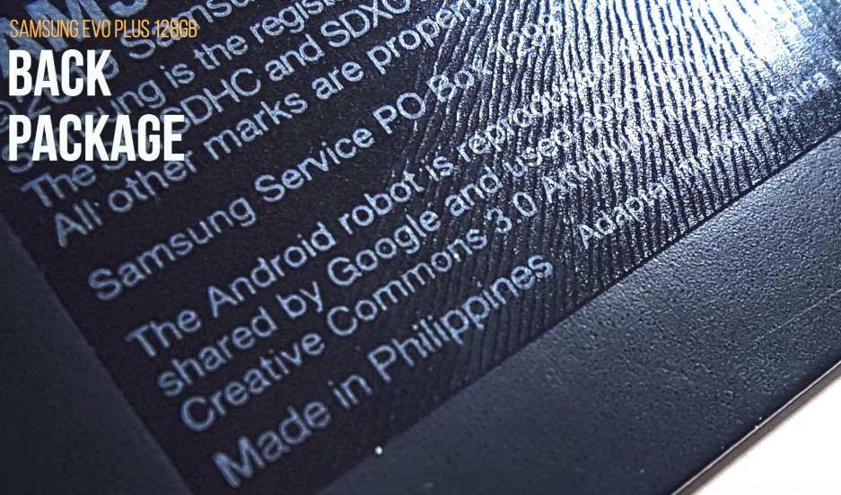 La fabricación es Made in Philippines y esta recubierto de un material plastificante