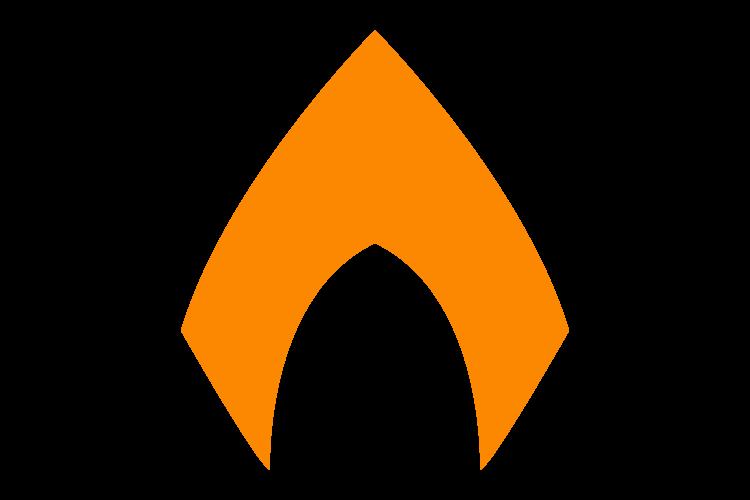 Logo Aquaman en formato PNG Vector
