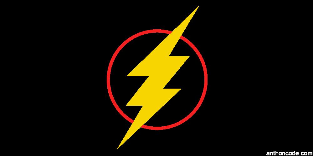Logo Flash en formato PNG Vector