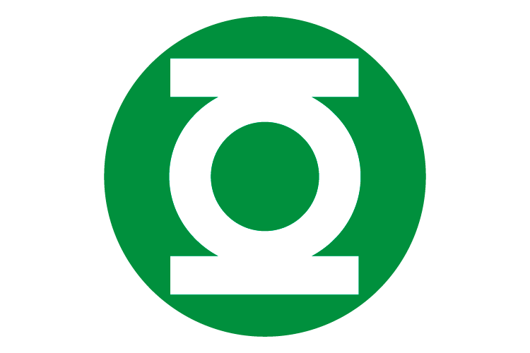 Logo Green Lantern en formato PNG Vector
