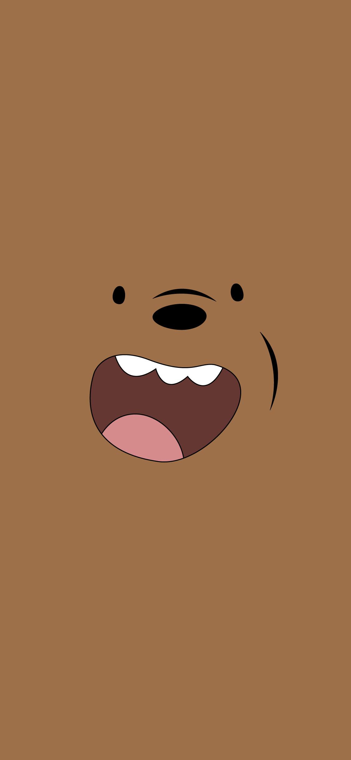fondo de pantalla pardo de somos oso