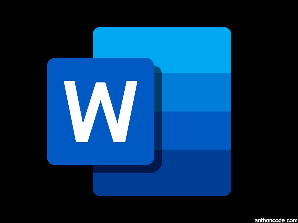 logo icono word 2019