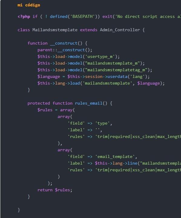 Agregar código fuente en WordPress