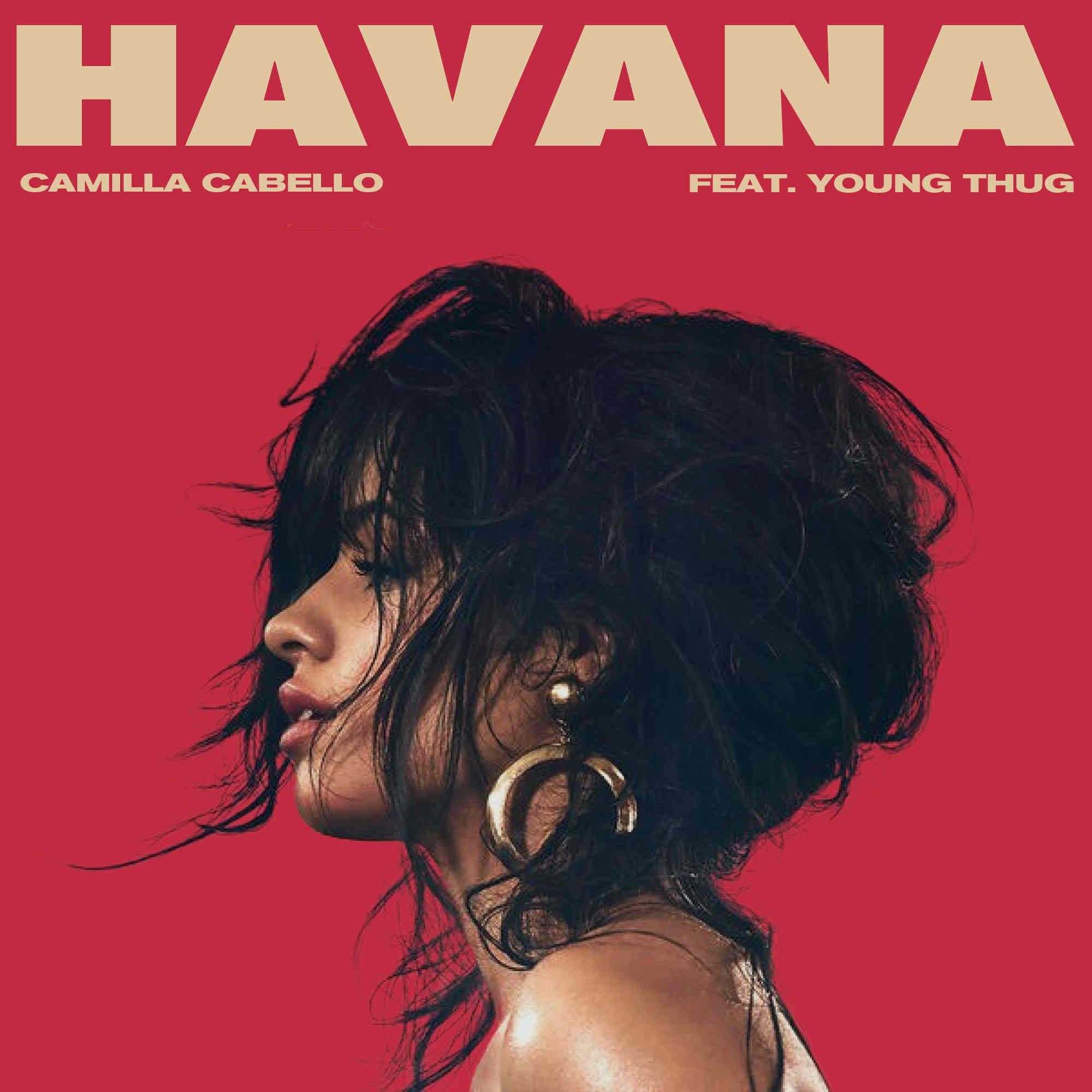 Album cover Havana Camila Cabello PSD