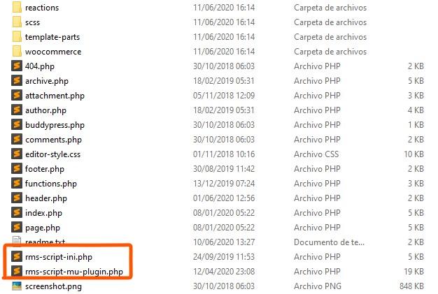 Identificar un tema de WordPress con virus WP-VCD