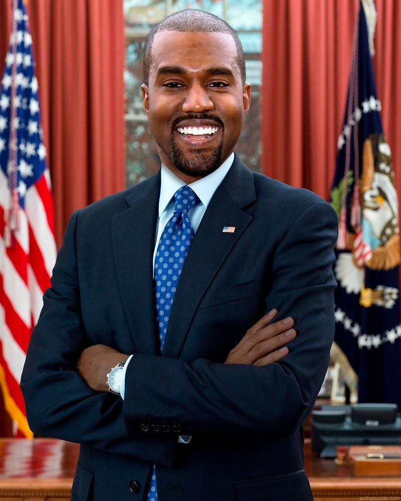Kanye West as President of the United States, Why not?