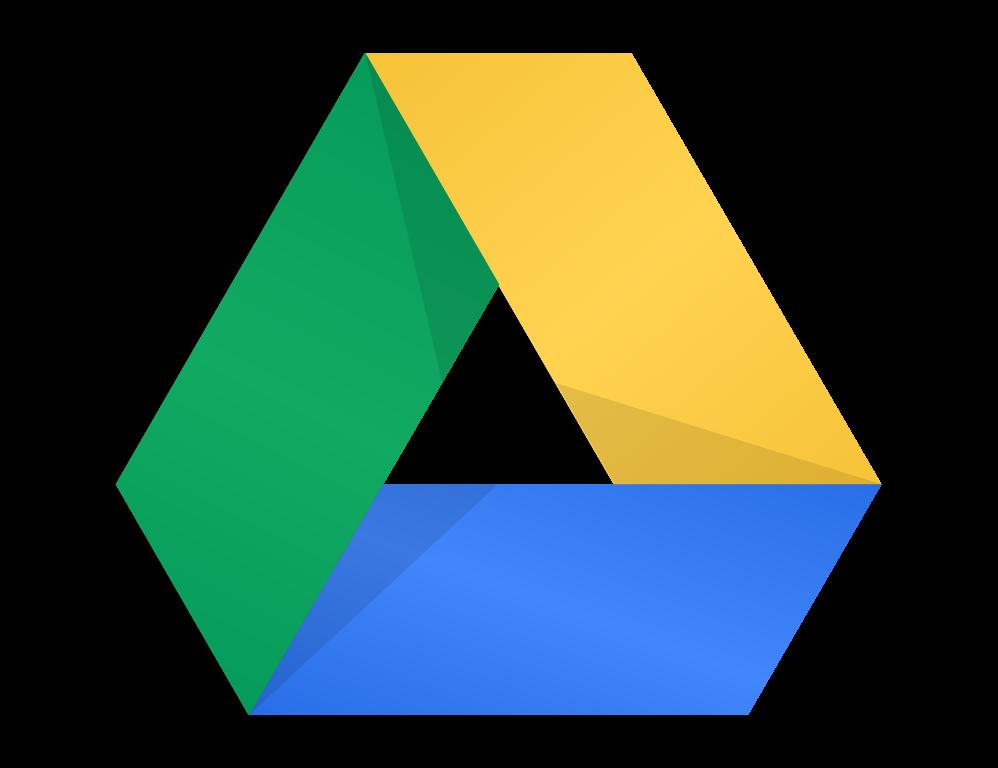 Logo Google Drive PNG y en formato vectorial SVG