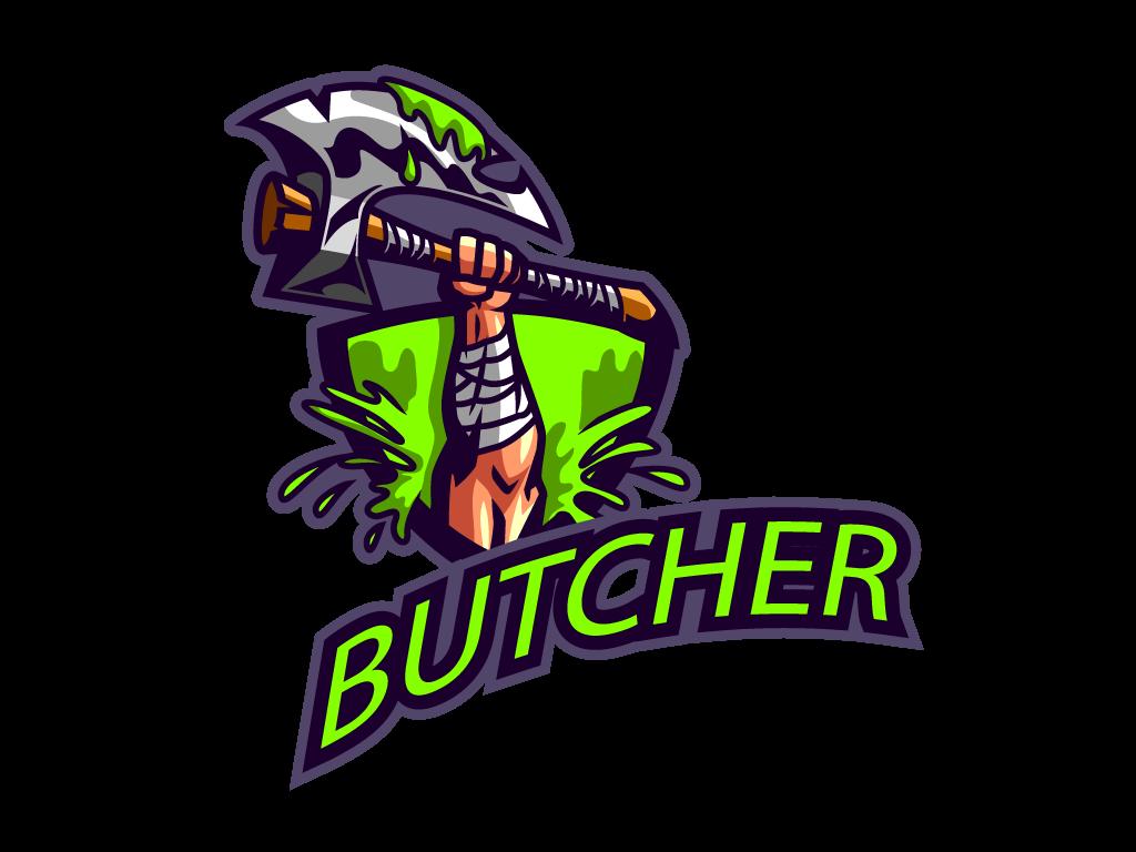Logotipo Hacha para Esports en formato vectorial