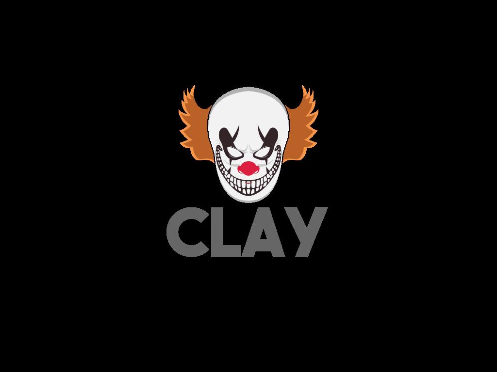 Logotipo Payaso Terrorífico Mascota Esports