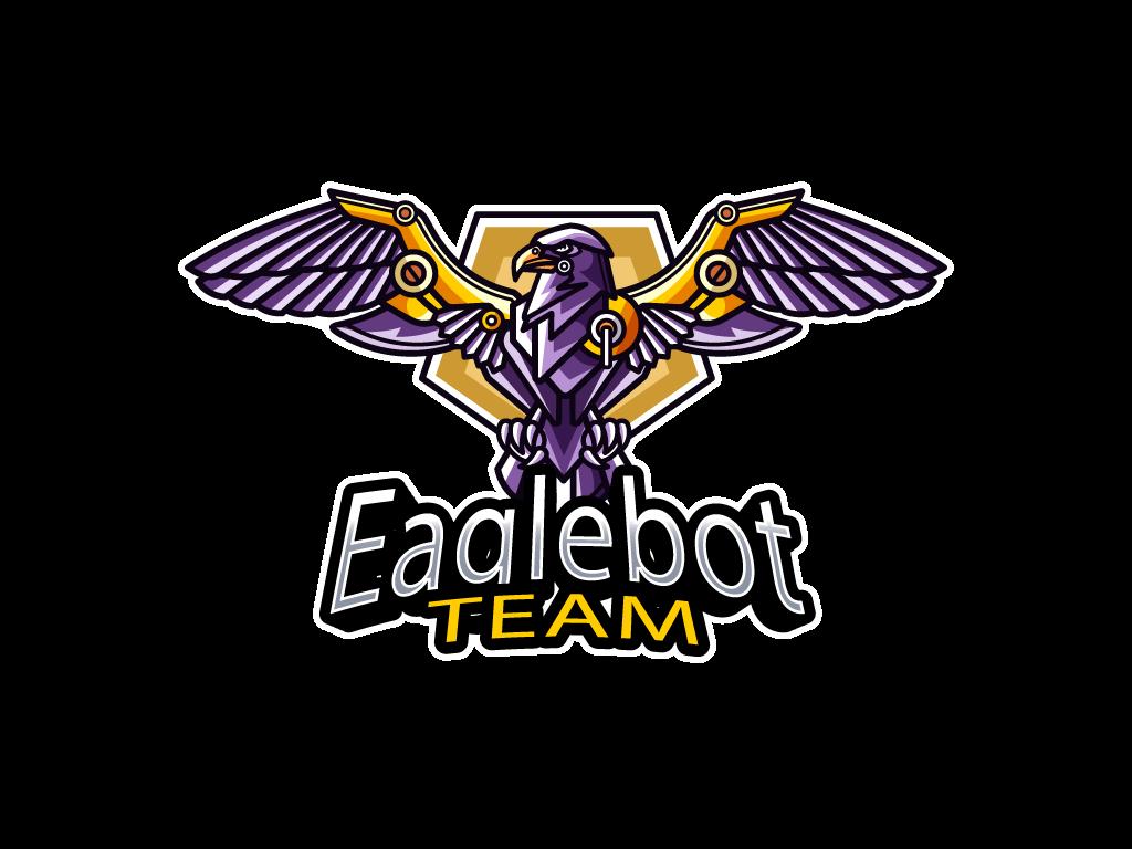 Logotipo Águila Robot Mascota Esports