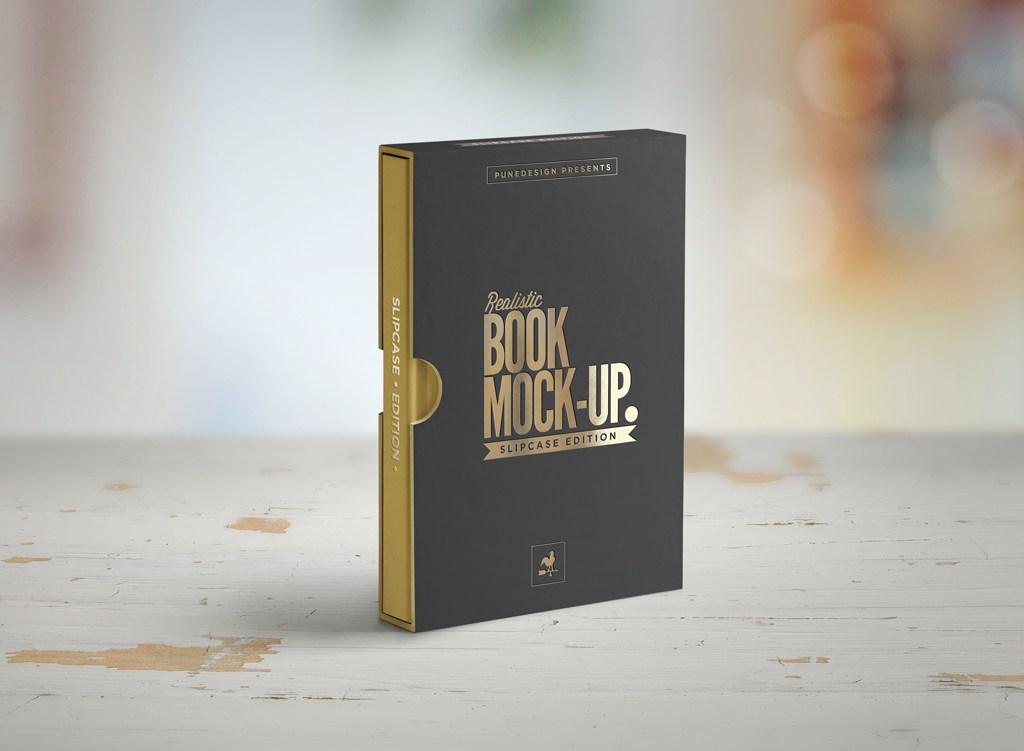 Mockup Estuche para libro Edición Especial