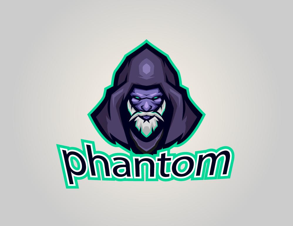 Logotipo Phantom para Esports