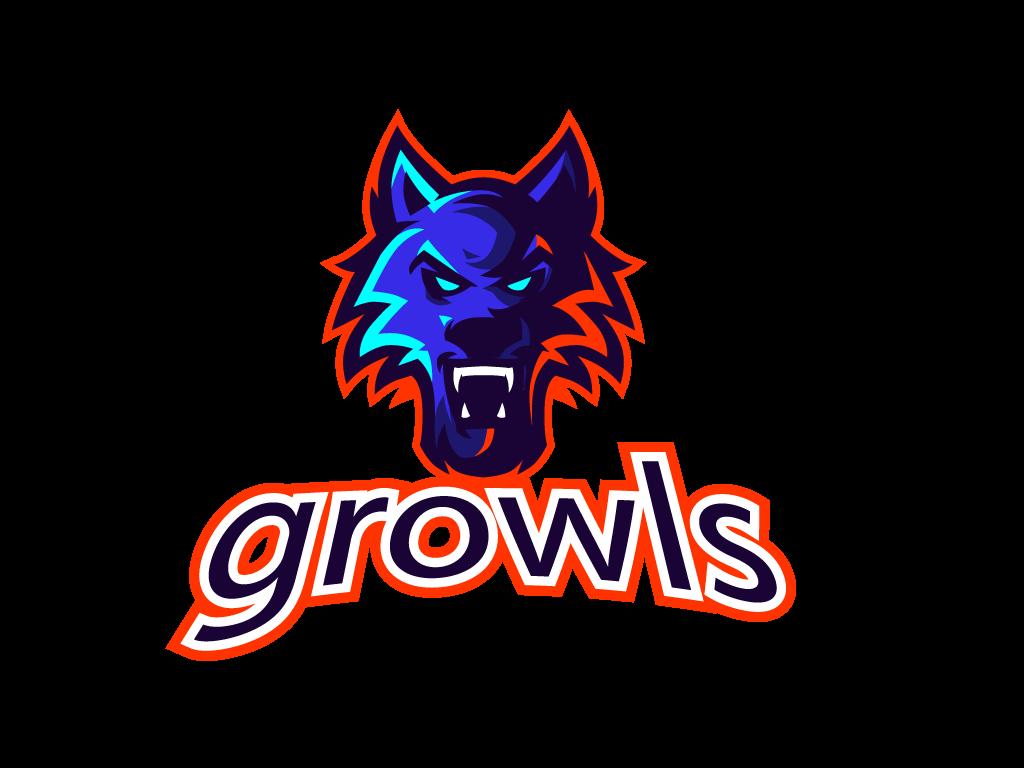 Logotipo Lobo Enojado para Esports