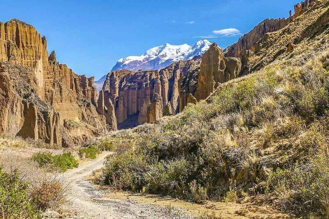 Viviendo en Bolivia Valle de La Luna, La Paz