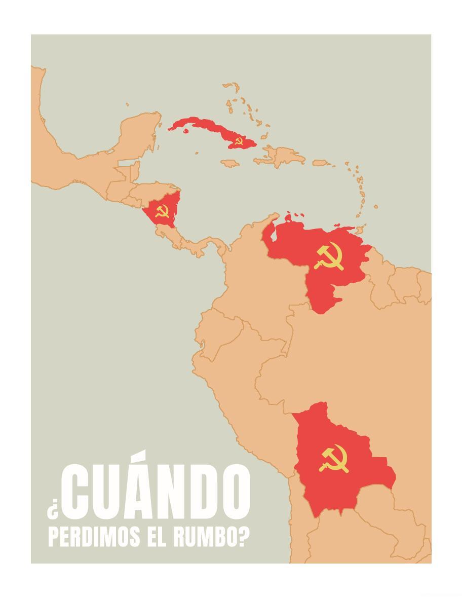 Países comunistas con gobiernos autoritarios y sanguinarios