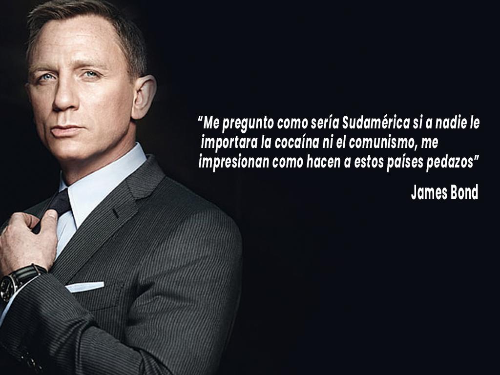 Frases de James Bond