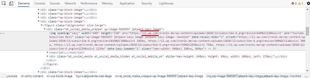 nueva URL a la imágenes no indexa imagen