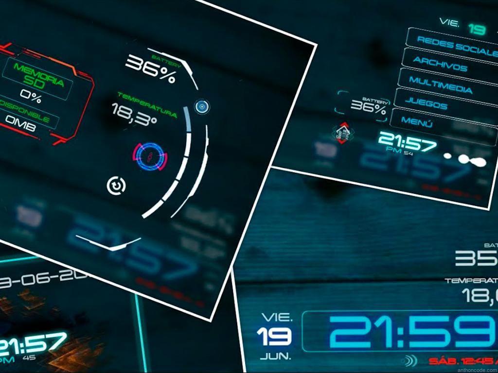 Launcher futuristas para Android