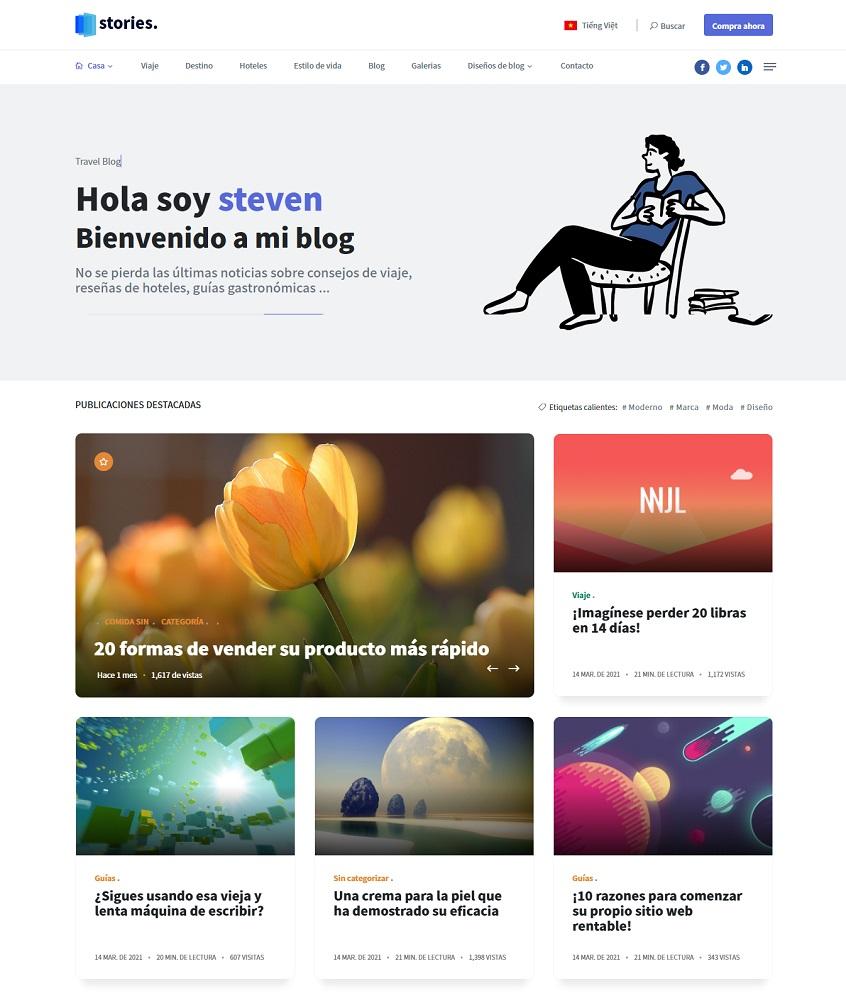 CMS Blog en Laravel