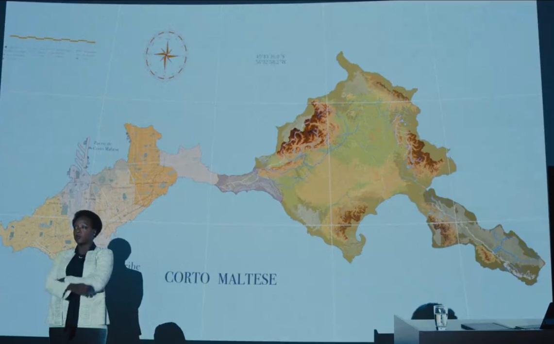 Corto Maltese Map