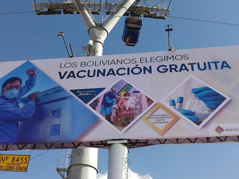 Vacunación Bolivia Arce Catacora